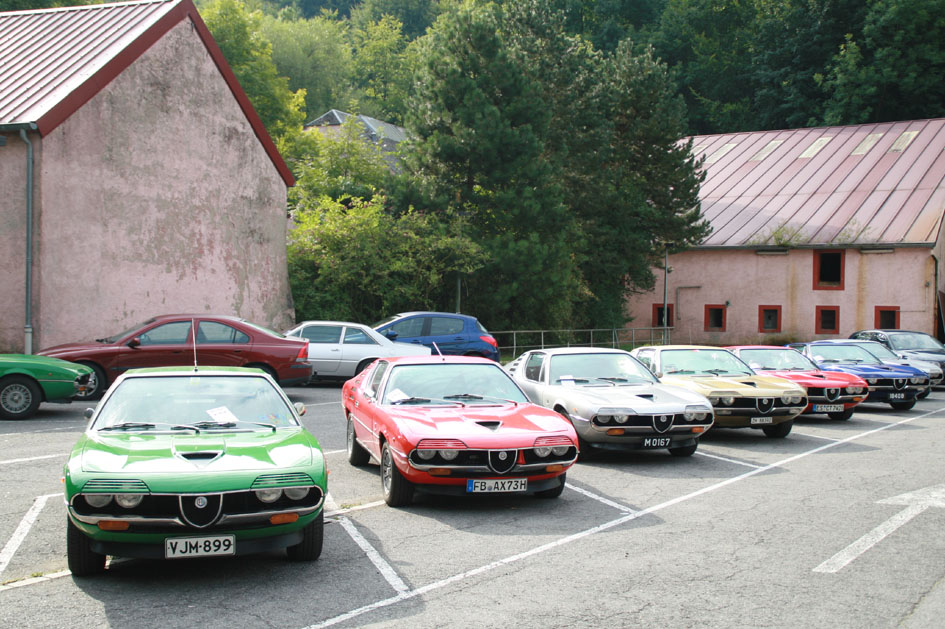 2008 alfa romeo montreal meeting for Garage alfa romeo luxembourg